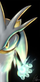 Silver The Hedgehog by Default-Deviant