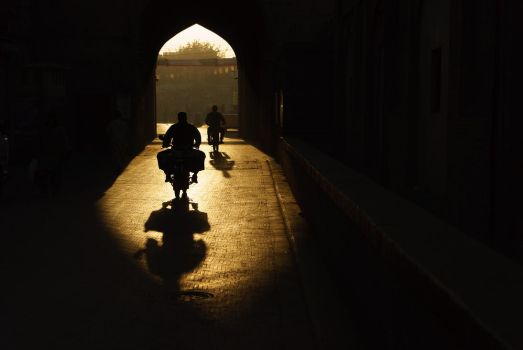 First Light from Delhi to Lahore by ZaGHaMi