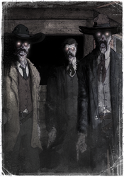 The Ghosts of the Earps by T-RexJones