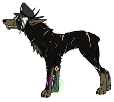 Hesk Canine Form by darkwolf1984