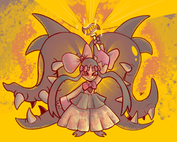 Magical Girl Mega Mawile by Seaworm