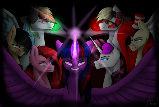 Element's of insanity by ArtAnnie01