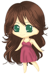 Chibi Me by PinkWoods