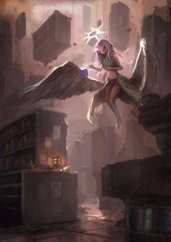 Angel Of Knowledge by IFoldBooks
