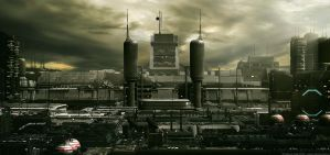 Industrial Fields 2 (The Colony) by MarkusVogt