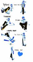 MMD Guy Pose Pack DL by nyanami