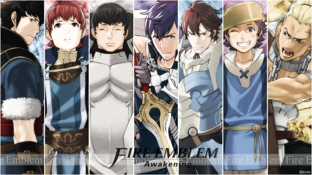 Wall Fire Emblem Awakening by Creamia
