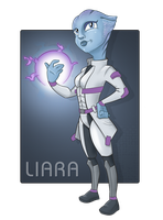 Liara T'soni-Mission Ready with Biotic Singularity by jtrazbo