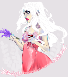 Wine and Lavender by cakiebakie