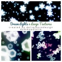 Dream Lights 4 Large Textures by deliquescedesign