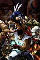 Marvel VS Capcom 2: Promo by UdonCrew