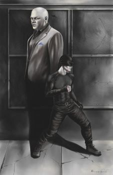 The Shadow of Wilson Fisk by GreenGosselin