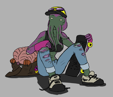 90s style mind flayer (sk8r) by ScottaHemi