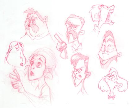 faces by robinmitchell