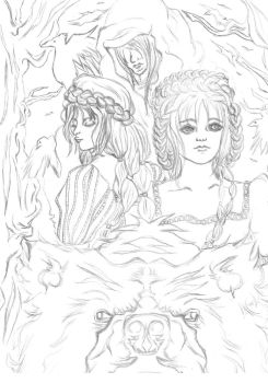 Once Upon a Fairytale sketch by MilleniumFallcon
