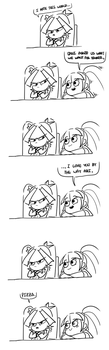 Sonata knows her too well. by AmazingPuffhair