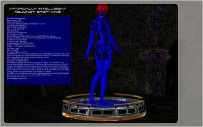 Profile:Artificially Intelligent Adjunct Stephanie by De3pBl4ck