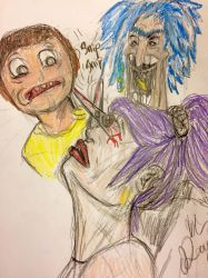 Crossovers are,burp,weird, Morty by Mr-Bonejangles