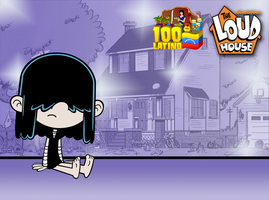 The Loud House - Lucy Loud Feet by 100latino