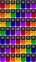 Game Boy Colors by wanderingent