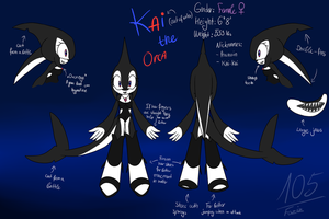 Kai the Orca [Sonic OC] by Foziz105