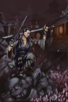 Female Ronin by Mcgreevy