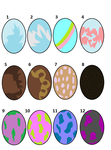 WoF egg adopts (OPEN) by StarTheInklingDraws