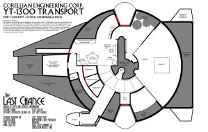 Smuggler's Log: Last Chance Deckplans by Sailmaster-Seion