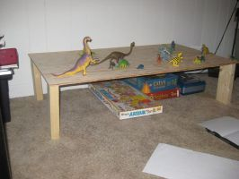 Dinosaur Table Project: 02 Table by Gorpo