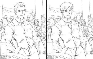 Cody Travers Old vs New Hair WIP 2 by Rober2403