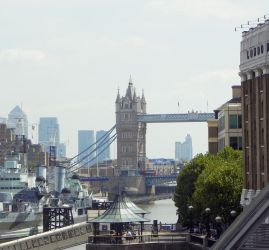 Tower Bridge in the distance by SimplyMint