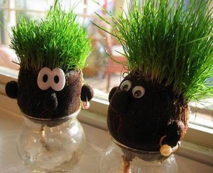 grass heads by system0failure