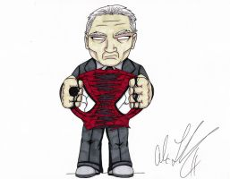 Black Lantern Uncle Ben by toonartist