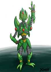 EldritchMantis's Lance - Concept Art by isaacboom