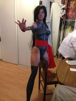 psylocke papercraft real size by enigmael