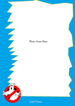 Real Ghostbusters Cards: Template 1 by Ghostbustersmaniac