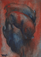 aceo pigs for n0vitski by kailavmp