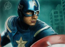 The First Avenger by c44zi