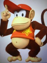 Diddy Kong by OhYeahCartoonsFan