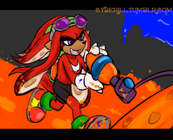 Squid Kid Knuckles by cyberill