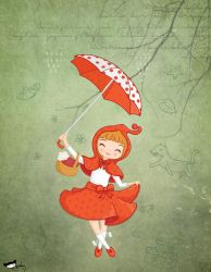 Little Red Riding Hood by ogunday
