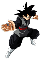 Goku Black by andrewdragonball