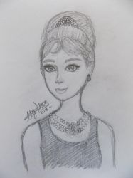 Holly Golightly by xxAlyMetalGirlxx