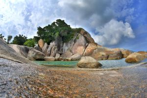 The rocks - HDR by MAK-Photographi