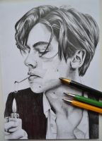 Cole Sprouse by bublinko