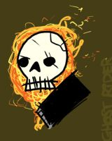 ghost rider by striffle