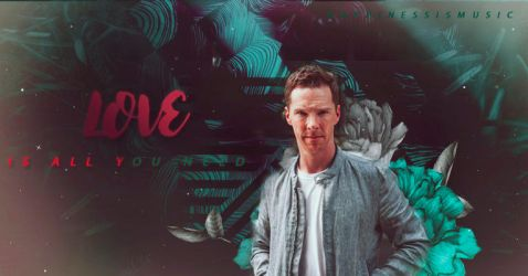 Benedict cumberbatch blend 43 by HappinessIsMusic