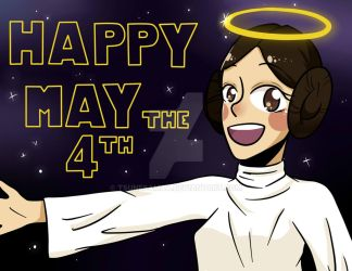 May the 4th be with you~ by Tsunesamaa