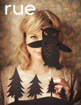 Rue Magazine - Cover by A-Fine-Frenzy