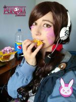 D.va Pepsi style by LuffySwan